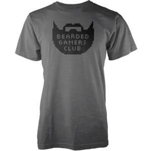 Bearded Gamers Club Men's Charcoal T-Shirt