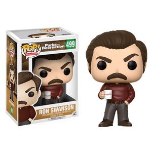 Figurine Pop! Ron Swanson Parks & Rec