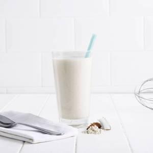 Batido de Coco Reducido en Azúcar