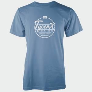 "Camiseta Tycerx ""Est. 2012 Bringing Virtual Into Reality"" - Hombre - Azul"
