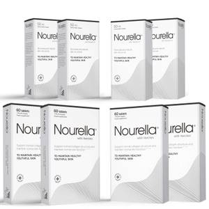 Nourella 4 Month Bundle (4 x Tablets 60 and 4 x Cream 50ml)