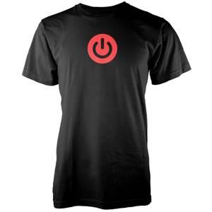 Gaming Power Button Men's Black T-Shirt