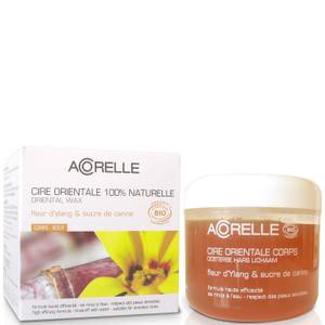 Acorelle Ylang Ylang Flower and Sugar Cane Sugar Wax with Body Strips wosk cukrowy z paskami 300 g