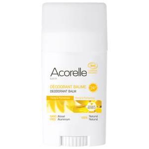 Acorelle Organic Ylang and Palmarosa Deodorant Balm dezodorant w sztyfcie z balsamem 40 g