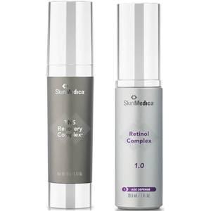 SkinMedica Retinol Complex 1.0 and TNS Recovery Complex (Worth $272)