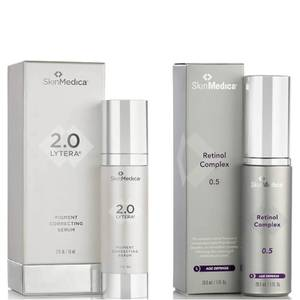 SkinMedica LYTERA 2.0 Pigment Correcting Serum and Retinol Complex 0.5 (Worth $231)