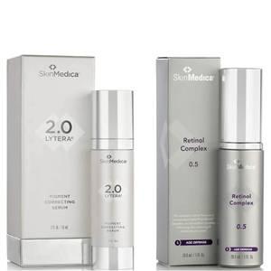 SkinMedica LYTERA 2.0 Pigment Correcting Serum and Retinol Complex 0.5 (Worth $231)