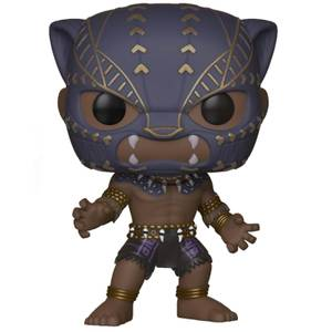 Figurine Pop! Warrior Falls - Black Panther
