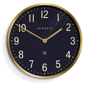 Newgate Mr Edwards Wall Clock - Radial Brass