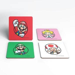 Nintendo Super Mario Good Guys Coaster Set