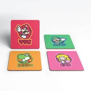 Dessous de Verre Good Guys Kanji Nintendo