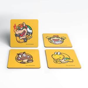 Nintendo Super Mario Koopas Coaster Set