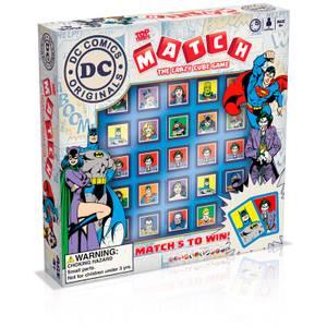 Top Trumps Match Board Game - DC Comics Edition