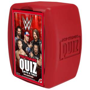 Top Trumps Quiz Game - WWE Edition