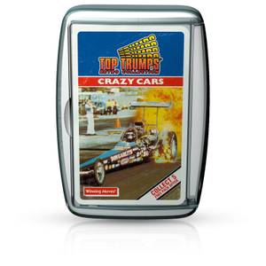 Top Trumps Card Game - Crazy Cars Retro Edition
