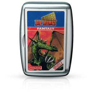 Top Trumps Card Game - Fantasy Retro Edition