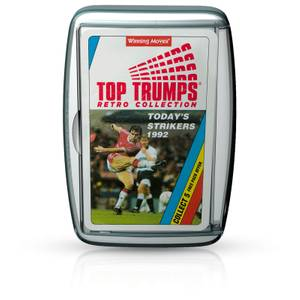Top Trumps Card Game - Today's Strikers Retro Edition