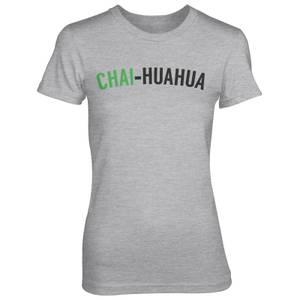 Chai-huahua Women's Grey T-Shirt