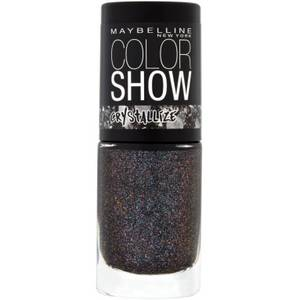 Maybelline Crystallize Almost Black Nail Polish
