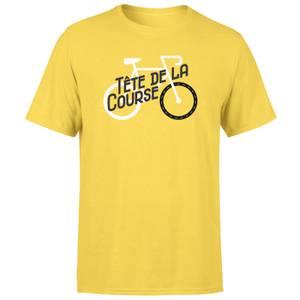 Tete De La Course Men's Yellow T-Shirt