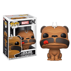 Inhumans Lockjaw Figura Pop! Vinyl