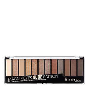 Rimmel 12 Pan Eyeshadow Palette – Nude Edition 14 g