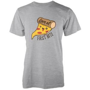 Kawaii Love At First Bite T-Shirt - Grau