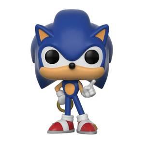 Sonic the Hedgehog Sonic con Ring Figura Pop! Vinyl