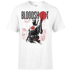 T-Shirt Homme Graphique Bloodshot Valiant Comics - Blanc