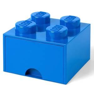 LEGO Brique de Rangement 4 Tenons - Bleu