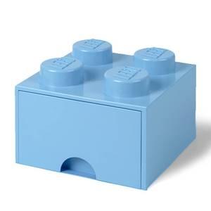 Brique de rangement LEGO® 4 Tenons - Bleu Roi