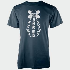 Skull Shred Navy T-Shirt