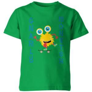 My Little Rascal Kids Gnarly Monster Green T-Shirt