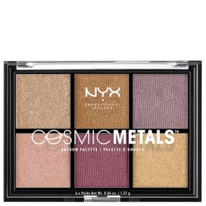 NYX Professional Makeup Paleta de Sombra de Ojos Cosmic Metal