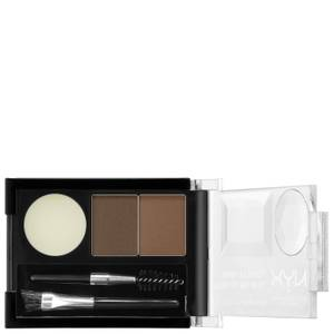 Запеченная пудра для бровей NYX Professional Makeup Eyebrow Cake Powder - Brunette