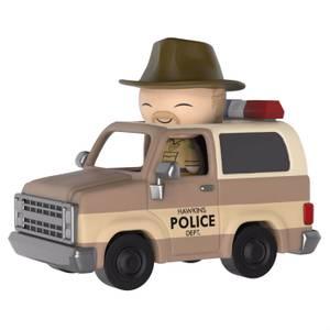 Stranger Things Hopper & Sheriff Deputy Truck Dorbz Ride Vinyl Figure