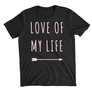 Love Of My Life Black T-Shirt