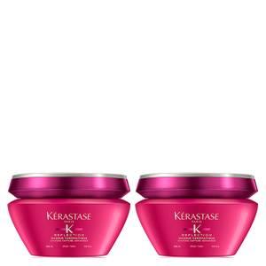 Kérastase Reflection Masque Chromatique Thick Hair Mask 200ml Duo