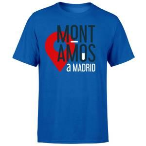 Mont Amos A Madrid Blue T-Shirt