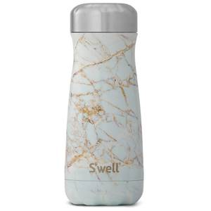 S'well The Calacatta Gold Traveller Bottle 470ml