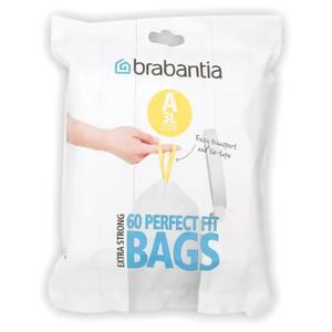 Brabantia PerfectFit Dispenser Pack A - 3 Litre (Pack of 60)
