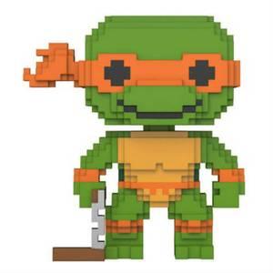 8 Bit Teenage Mutant Ninja Turtles Michelangelo Funko Pop! Vinyl