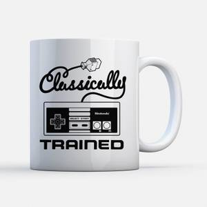 "Taza Nintendo NES ""Classically Trained"""