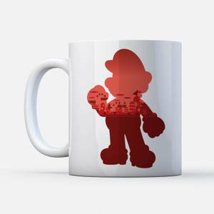 Nintendo Super Mario Mario Silhouette mok