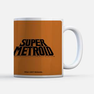 Nintendo Super Metroid Power Suit instructional Mug