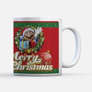 Nintendo Super Mario Claus Mug