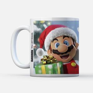 Nintendo Super Mario Claus Wave Mug
