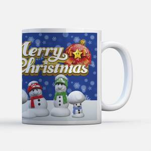 Tasse Nintendo Bonhommes de Neige - Super Mario
