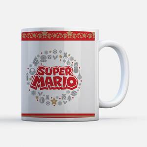 Tasse Nintendo Couronne Logo - Super Mario