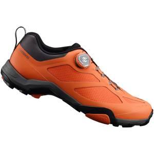 Shimano MT7 MTB Shoes - Orange